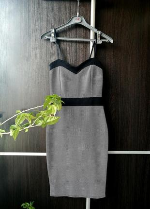 Шикарное супер платье сукня лёгкое. фактурная ткань. new look