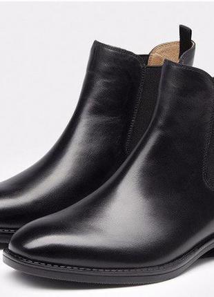 Сапоги ботинки  полусапожки натуральная кожа