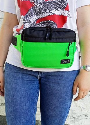 Поясная сумка famk r3 green black