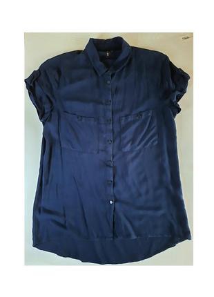 Блуза из полупрозрачной ткани