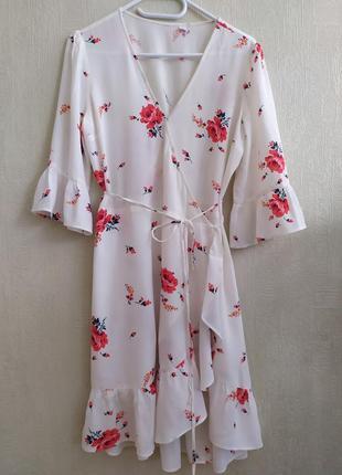 Платье на запах h&m, размер s