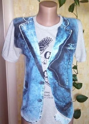 Стильная хлопковая футболка/рубашка/футболка/майка/джинсы/юбка/платье
