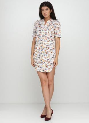 Платье-рубашка  radda  молочное 5002-66
