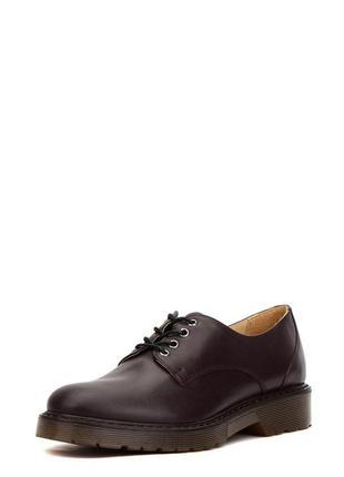 "Мужские туфли dr. martens oxford low ""brown"" ."