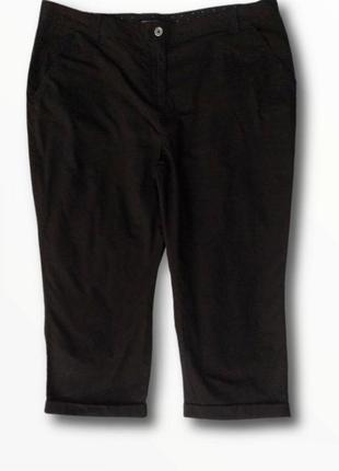 Стильные брюки капри,укороченные коттоновые брюки dorothy perkins