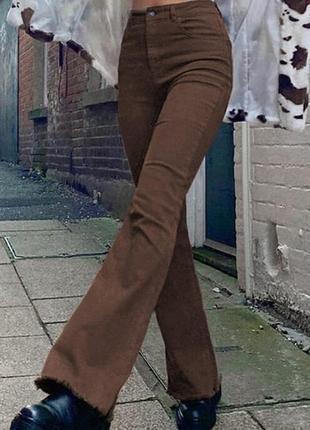 Стильные коричневые джинсы principles petite