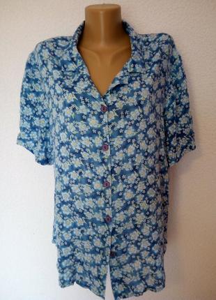 Женская вискозная блузка