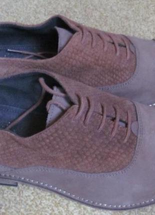 Туфли оксфорды dune р.42. оригинал3 фото