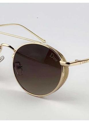 Трендовые круглые солнцезащитные очки