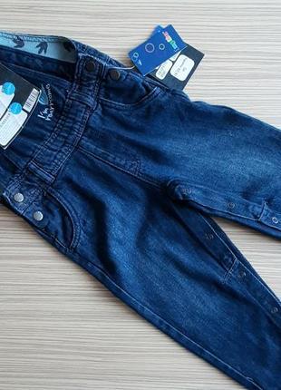 Комбінезон джинсовий lupilu