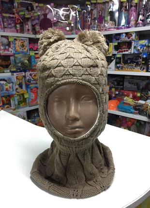 Шапка-шлем ,зимняя размер 50-52 см
