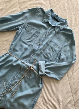 Платье-рубашка брендовое