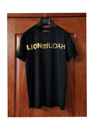 Lion of udah футболка хлопок оверсайз