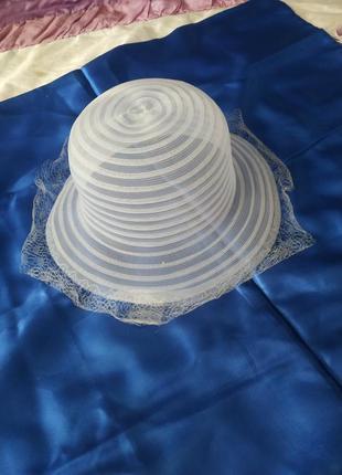 Летняя легкая шляпка