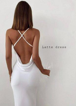 Платье шелковое сатиновое