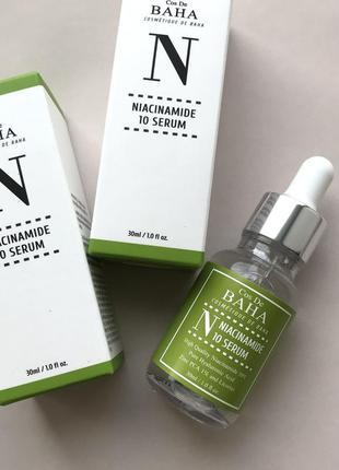 Сиворотка cos de baha niacinamide 10 serum з ніацинамідом