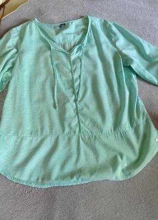 Легчайшая натуральная блуза