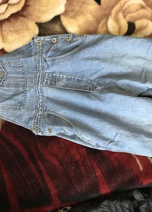 Комбенизон джинсовый джинсы