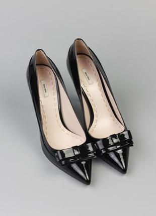 Фирменные кожаные туфли италия