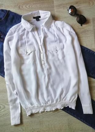 Натуральная лёгкая рубашка свободного кроя, сорочка оверсайз, рубашка бойфренд,