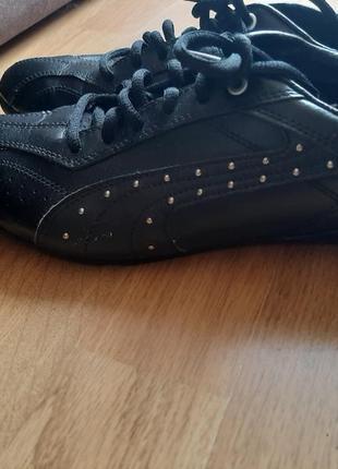 Новые кроссовки/кеды, кожа пума