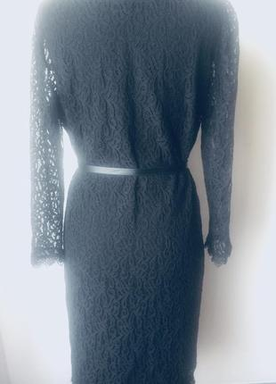 Стильное кружевное платье на подкладке5 фото