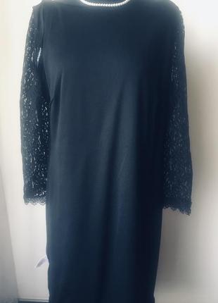 Стильное кружевное платье на подкладке10 фото