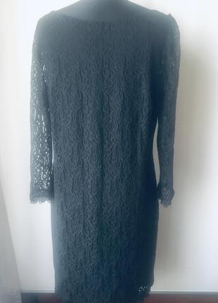 Стильное кружевное платье на подкладке9 фото