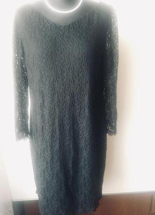 Стильное кружевное платье на подкладке8 фото