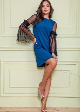 Платье, цвет петроль