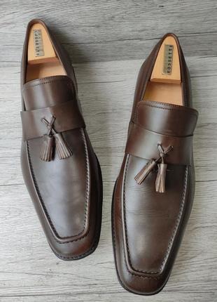 Osborne 46p туфли мужские лоферы кожа индия3 фото