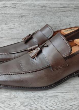Osborne 46p туфли мужские лоферы кожа индия