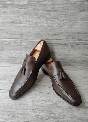 Osborne 46p туфли мужские лоферы кожа индия5 фото