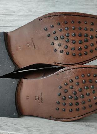 Osborne 46p туфли мужские лоферы кожа индия8 фото