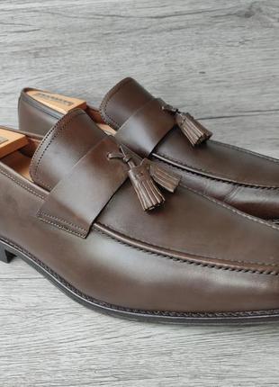 Osborne 46p туфли мужские лоферы кожа индия2 фото