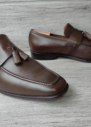 Osborne 46p туфли мужские лоферы кожа индия6 фото