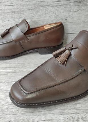 Osborne 46p туфли мужские лоферы кожа индия4 фото