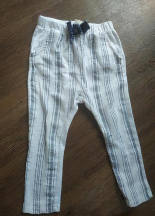 Классные летние штанишки zara