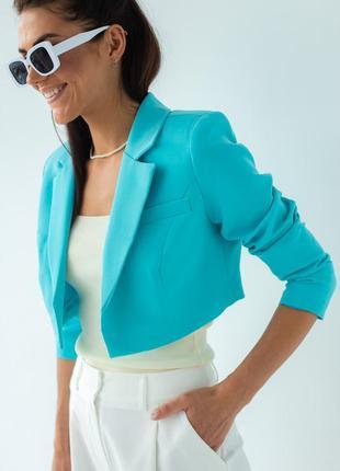 Вкорочений жакет / укороченный пиджак