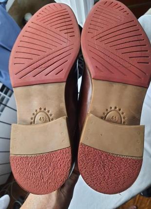 Шикарнейшие фирменные туфли am shoe company(германия) 41 размер2 фото