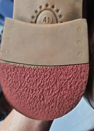 Шикарнейшие фирменные туфли am shoe company(германия) 41 размер4 фото