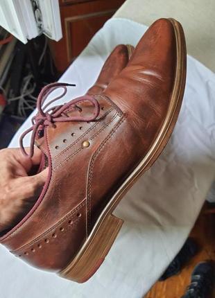 Шикарнейшие фирменные туфли am shoe company(германия) 41 размер7 фото