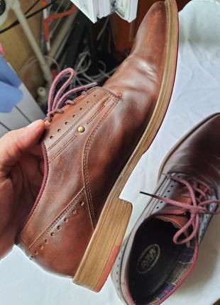 Шикарнейшие фирменные туфли am shoe company(германия) 41 размер8 фото