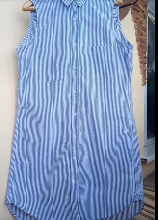 Платье-рубашка,сарафан