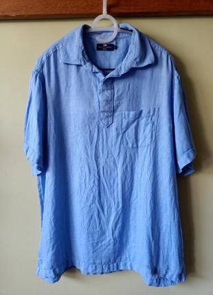 Рубашка сорочка лен на лето, льон, лляна