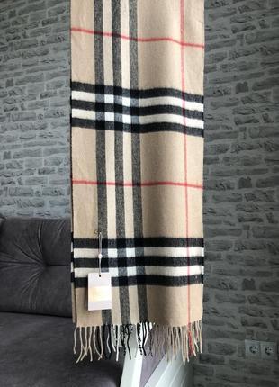 Новый шарф в стиле burberry