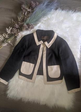 Стильный укороченный пиджак
