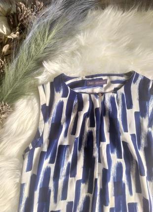Стильная блуза, майка m&s  с ярким принтом