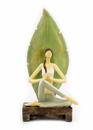 Статуэтка йога №3  полистоун