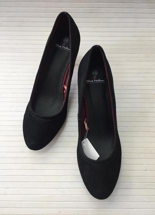 Черные туфли blue motion